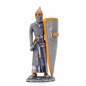 Figurine - Cavalier avec son long bouclier