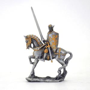 Figurine - Cavalier avec son javelot et son bouclier