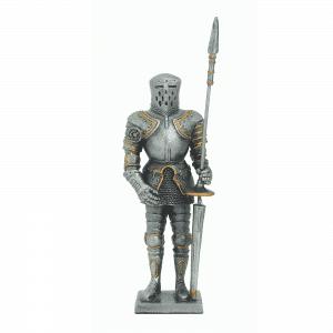 Figurine - Cavalier avec son heaume et son javelot