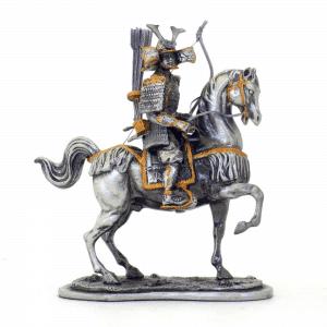 Figurine - Archer samouraï sur sa monture