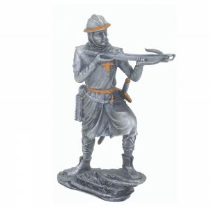 Figurine - Cavalier des Croisades avec une arbalète