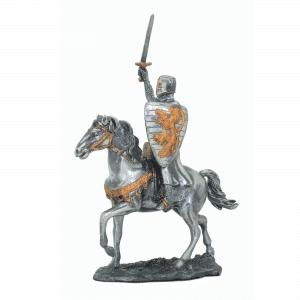 Figurine - Cavalier des Croisades à l'épée