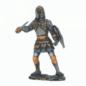 Figurine - Combattant romain sur ses gardes
