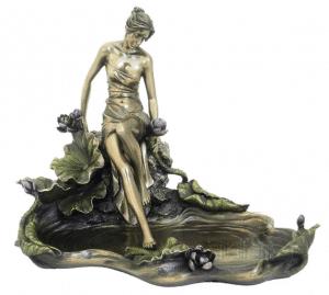 Figurine - Créature divine mythologique romaine - Jardin au bord de l'eau