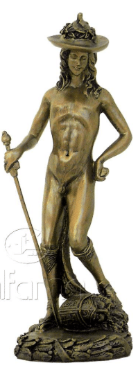 Figurine - David par le sculpteur Donatello