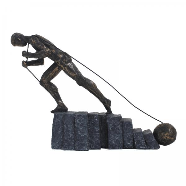 Sculpture - Ne jamais abandonner