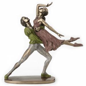 Sculpture miniature - Danseur de ballet faisant un porté