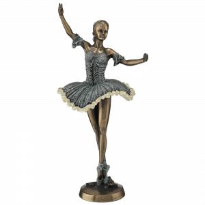 Sculpture miniature - Danseuse étoile réalisant la figure de sus-sous