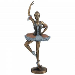 Sculpture miniature - Danseuse de ballet faisant une pirouette