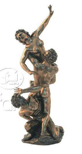 Sculpture miniature - L'Enlèvement des Sabines par Giambologna