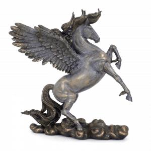 Sculpture miniature - Pégase cheval avec des ailes de la mythologie grecque