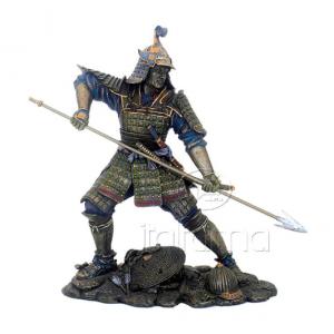 Figurine - Samourai équipé d'une lance
