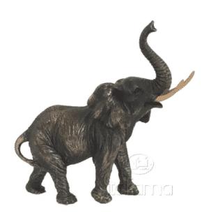Sculpture miniature - Jeune élephant