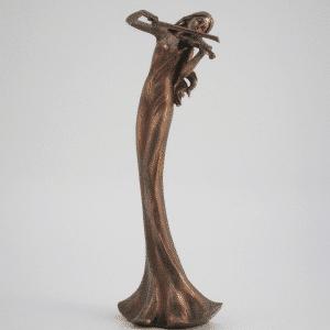 Figurine - Musicienne violoniste