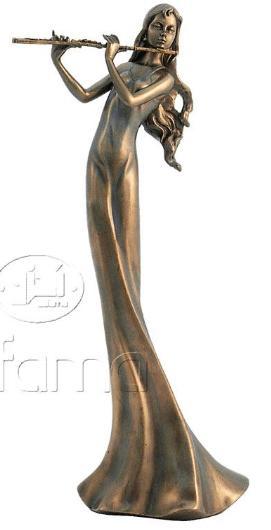 Figurine - Musicienne clarinettiste