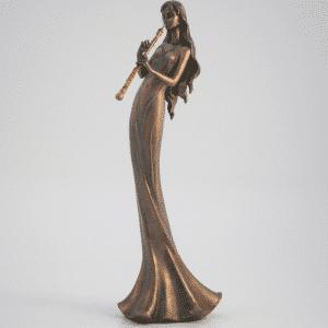 Figurine - Musicienne flûtiste