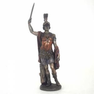 Figurine - Centurion de l'Empire romain levant son glaive