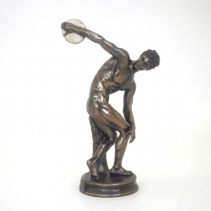 Figurine de l'antiquité - Lanceur de disque de Miron