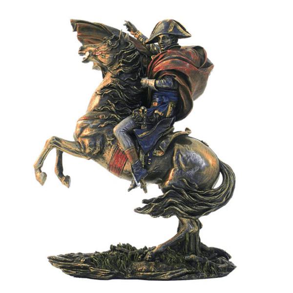 Figurine - Bonaparte franchissant le Grand Saint-Bernard