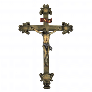 Figurine représentant la scène de la Crucifixion de Jesus