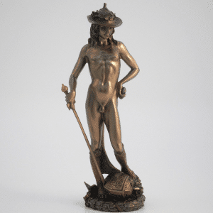 Sculpture miniature - David par le sculpteur Donatello