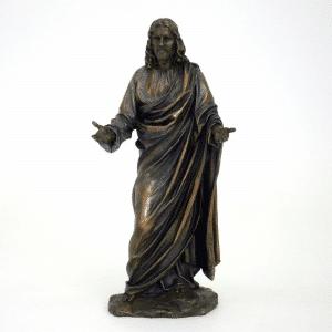 Figurine - Jésus Christ avec les paumes levées vers le ciel