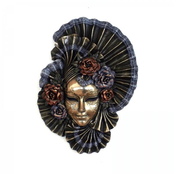"""Bibelot représentant un masque de Venise """"Peony"""""""