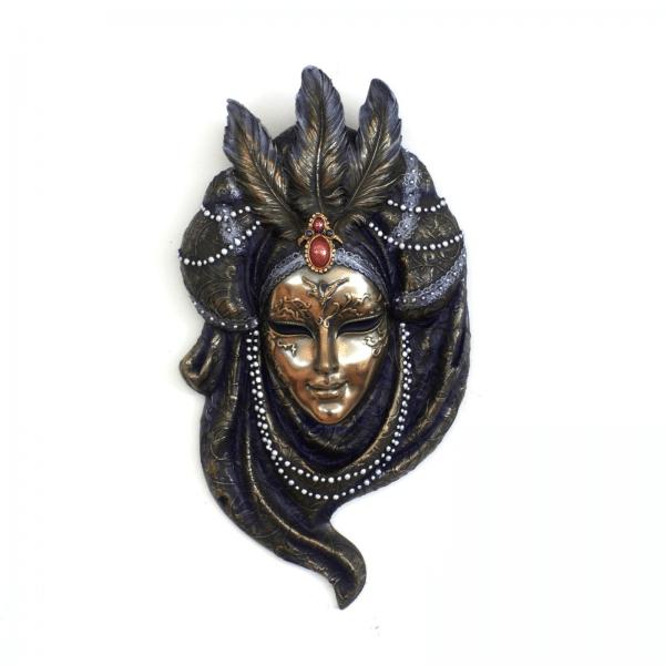 """Bibelot représentant un masque de Venis """"Pearls"""""""