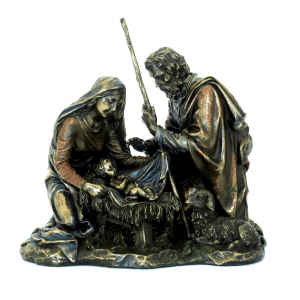 Bibelot à l'image de la naissance de Jésus