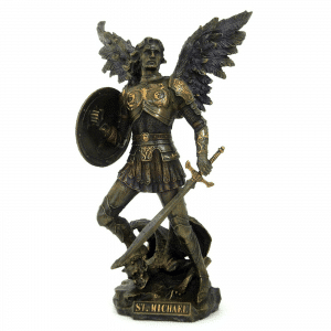 Figurine - Archange Saint Michel ange en chef de la Bible