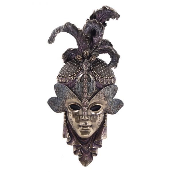 """Bibelot représentant un masque de Venise """"Libellule"""""""