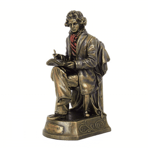 Figurine - Beethoven en train de composer