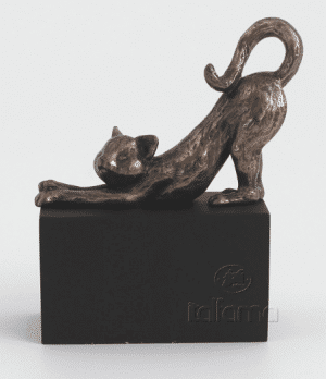 Figurine - Chat qui sétire