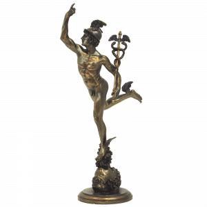 Figurine - Le mercure par Giambologna