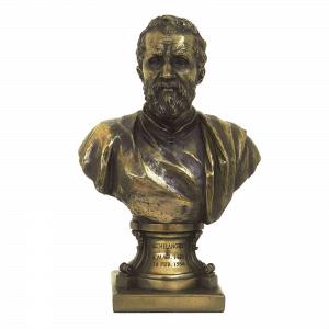 Figurine - Buste de Michelangelo