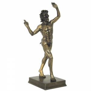 Sculpture miniature de Faune de Pompéi