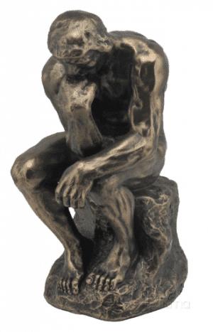 Sculpture miniature - Penseur par le sculpteur Rodin