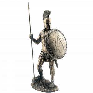 Figurine - Guerrier spartiate équipé de sa lance