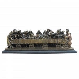 Sculpture miniature - Le Dernier repas selon l'artiste Leonardo da Vinci