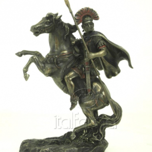 Figurine - Alexandre le Grand sur son cheval