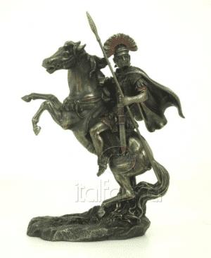 Figurine - Alexandre le Grand sur son cheval