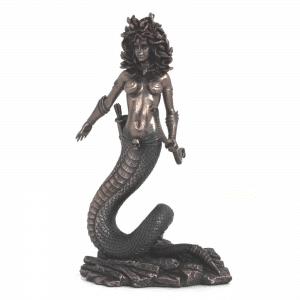 Figurine - La Méduse avec un corps de serpent