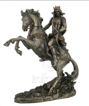 Figurine - Le cavalier blanc de la résurrection