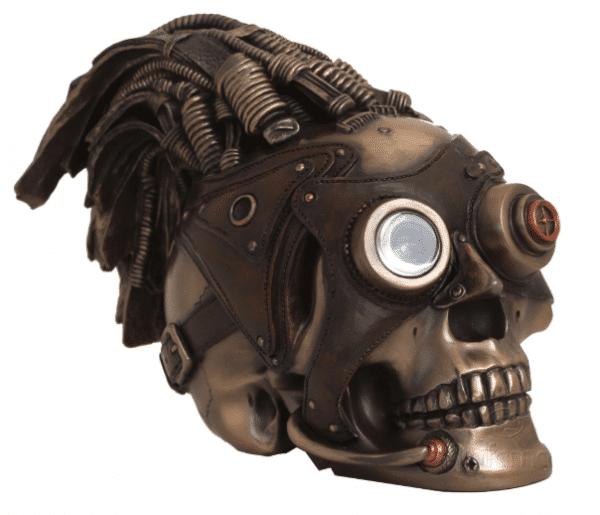 Figurine - Crâne décoratif de Steampunk