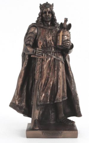 Figurine - Le roi Arthur du V ème siècle