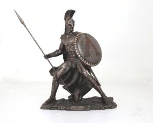 Figurine - Léonidas en train de se battre
