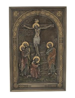 Figurine - Icône crucifix de Jésus Christ