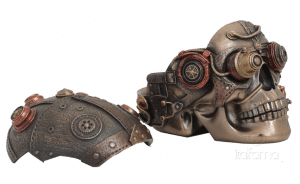 Figurine - Crâne ouvrable Steampunk