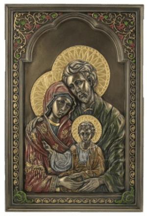 Figurine - Icône de la Sainte-Famille