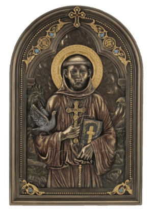 Figurine - Icône St.François d'Assise